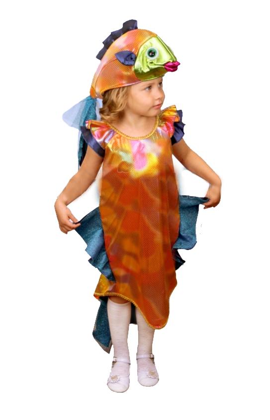 Как сделать костюм рыбки для девочки