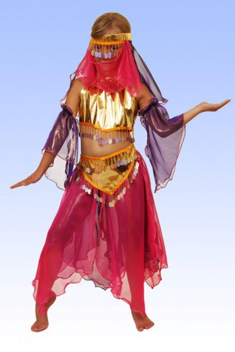 Новогодние костюмы восточная красавица своими руками