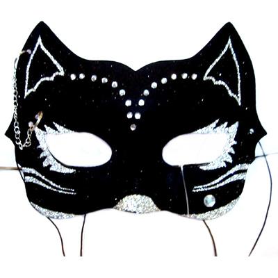 Черная маска своими руками шаблон