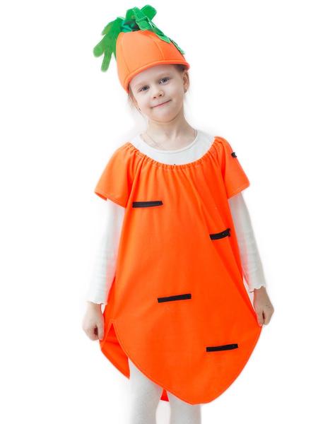 Костюмы морковки для девочки своими руками